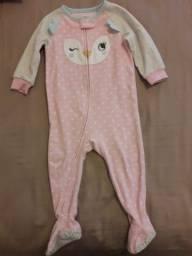 Pijama em fleece