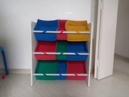 Estante Montessori Organizadora de Brinquedos