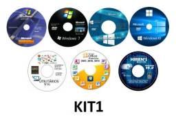 Kit Técnico De Informática DVDs Para Formatação