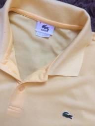 Camisa polo Lacoste amarela 6