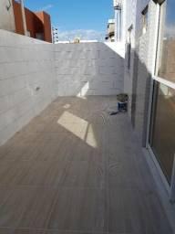 Térreo no Bessa - NOVO - 3 quartos - terraço em L - 96 m2