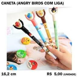 Caneta Angry Birds com Liga