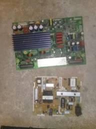 Várias placas de tv LCD led plasma 200 placas uma 20 reais a unidade zap 98809 1948