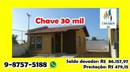 Chave de casa Condomínio Village dos pássaros 3 por 30 mil whats 9-8757-5188