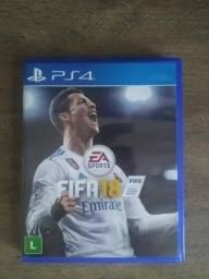 FIFA 18 PS4 - Pouco Usado