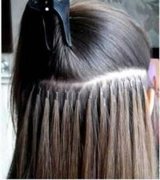 Aplicação de Mega-Hair