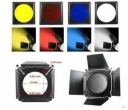 25 filtros de iluminação para refletores