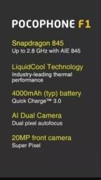 Pocophone F1 by Xiaomi 6gb ram 128gb rom - FGS Eletrônicos!!!