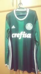 524da3d6d78f5 Camisa original do Palmeiras manga longa 2016
