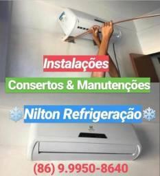 Serviços de Refrigeração e Outros