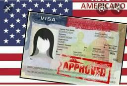 Assessoria para solicitação de visto americano