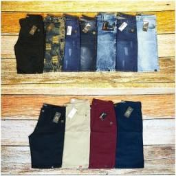 Bermudas Masculina Jeans (Atacado)