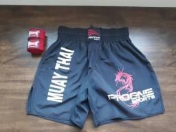 Short Muay Thai + bandagem profissional