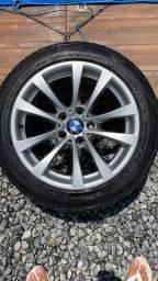 Rodas BMW 328i 2015 com pneu novos