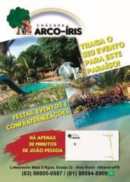 Alugo chácara Arco íris