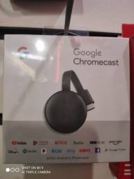 Google Chromecast geração 3 novos lacrados com 3 meses de garantia