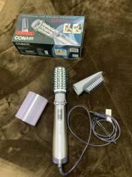 Escova Rotating Air Brush Titanium - PoliShop