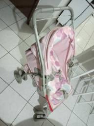 Carrinho para bebê com bebê conforto 500