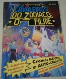 Álbum De Figurinhas Cavaleiros Dos Zodiacos 1995