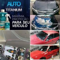 Auto Protection Titanium - Cristaliza a pintura de forma rápida e eficaz