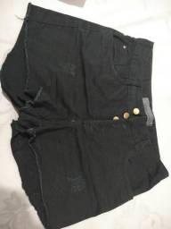 Shorts Preto Foocus