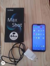 Zenfone Max Shot Semi-novo completo!