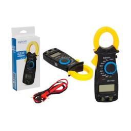 Alicate Amperímetro Profissional Digital 600V Md-Y400 Exbom