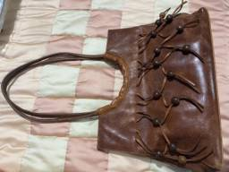 Bolsa de couro grande