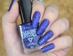 Esmalte Efeito Glítter Crystals Avon 10ml Cor: Azul Galáxia Santana-AP NOVA BRASÍLIA