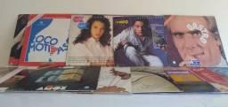 Kit com 20 discos de vinil LP Novelas!