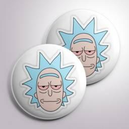 Bottons (Broches) Rick e Moly