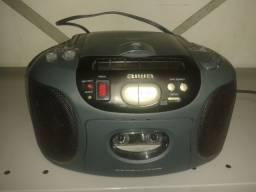 Rádio AIWA toca-fitas portátil