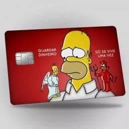 Adesivo para cartão de crédito /débito