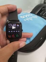 Amazfit GTS com pulseira extra + caixa