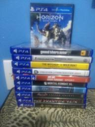 Vendo jogos de PS4 (levando todos saem na média de 40,00 cada)