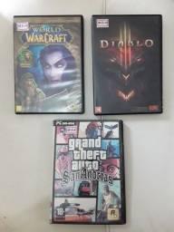 Vendo jogos para PC