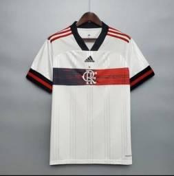 Camisa Adidas Flamengo 2020 Branca - Aceito Cartões