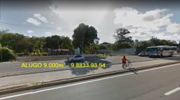 Alugo na Washington Soares Terreno com 9.000 m² para fins comerciais