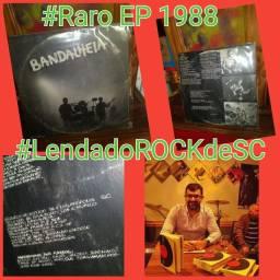 EP raro vinil da bandalheia 1988 rock catarinense