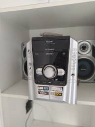 Som Panasonic SA-AK240, 5cds mp3