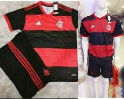 1o 2o 3o Uniforme do Flamengo