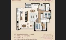 Apartamento com 3 dormitórios à venda, 133 m² por R$ 1.000.000,00 - Parque Solar do Agrest