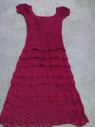 Vendo vestido de tricor lindo novo 80,00