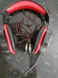 Fone de ouvido Headset Gamer