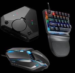Adaptador para FreeFire Mouse+Teclado+Adaptador