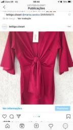 Vestido vermelho festa curto