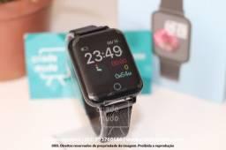 Smartwatch B57 Band Hero III Pulseira Magnética Preta Com Monitor de Frequência Cardíaca