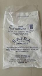 Saco de fibra-ráfia para farinha, serragem, entulho R$ 1,25 cada