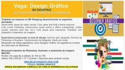 Design gráfico com experiência