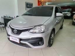 Toyota Etios XS 2018 Automático com GNV Novo demais